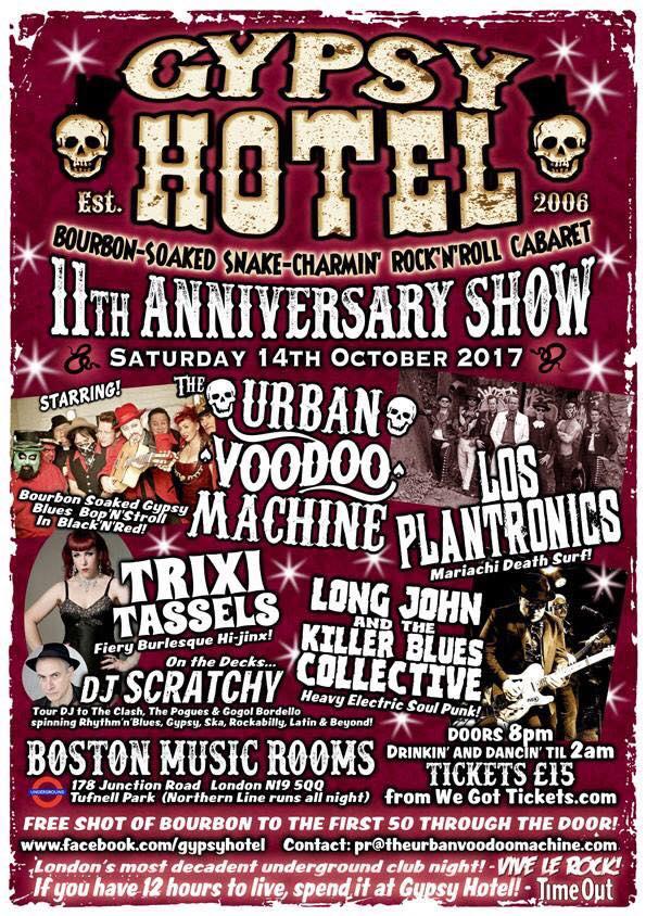 Gypsy Hotel 2017